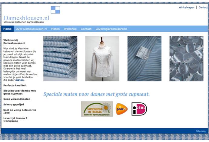 Damesblousen webshop