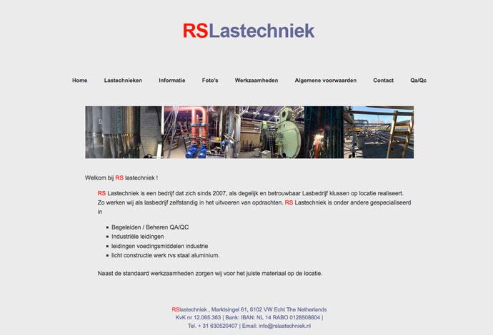 RS Lastechniek website