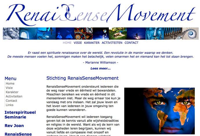 Renaissense website