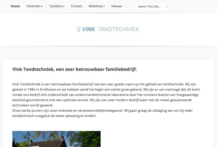 Vinktandtechniek website